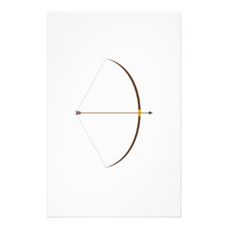 Bow and Arrow Stationery Design