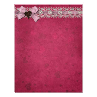 Bow and Lace Letterhead