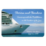 Bow and Sky Stateroom Door Marker Rectangular Photo Magnet