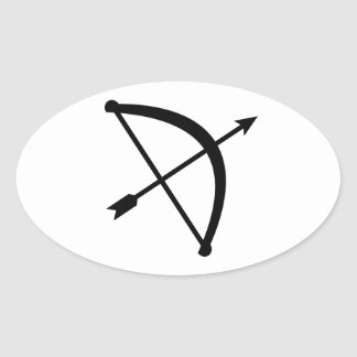 Bow arrow hunter stickers