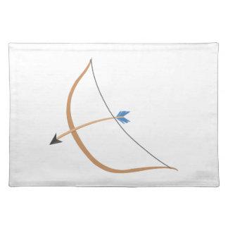 Bow & Arrow Cloth Place Mat