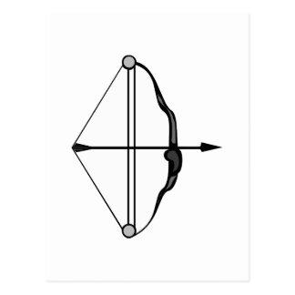 Bow & Arrow Postcard