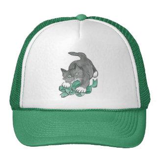 Bow Attack by Gray Kitten Trucker Hat