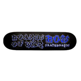 BOW Blue Graffiti Deck Skate Boards