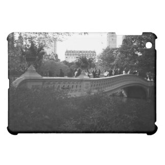 Bow Bridge, Black and White, Central Park, NYC Case For The iPad Mini