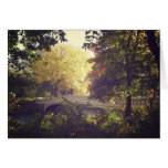 Bow Bridge Framed By Trees,Central Park, NYC Greeting Card