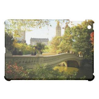 Bow Bridge in Autumn, Central Park, New York City iPad Mini Cover