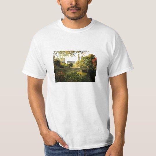 Bow Bridge in Autumn, Central Park, New York City T-Shirt