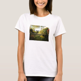Bow Bridge in Autumn, Central Park, New York City T-Shirt