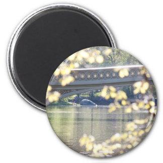 Bow Bridge in Summer Fridge Magnets