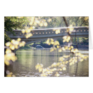 Bow Bridge in Summer Greeting Card