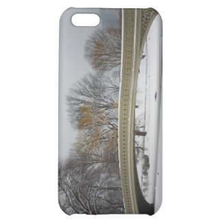 Bow Bridge, Winter Landscape, New York City iPhone 5C Cover