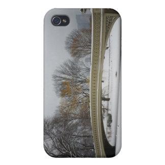 Bow Bridge, Winter Landscape, New York City iPhone 4/4S Case