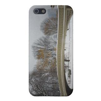 Bow Bridge, Winter Landscape, New York City iPhone SE/5/5s Case