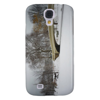 Bow Bridge, Winter Trees, Central Park, NYC Samsung Galaxy S4 Cases