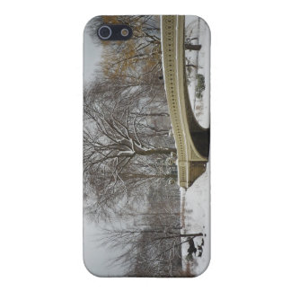 Bow Bridge, Winter Trees, Central Park, NYC iPhone 5 Cover