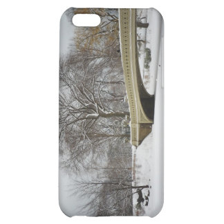 Bow Bridge, Winter Trees, Central Park, NYC iPhone 5C Covers