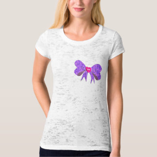 Bow Burnout T-Shirt
