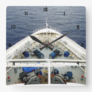 Bow Business Square Wall Clock