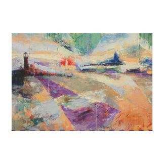 Bow, Channel & Guardian Canvas Print