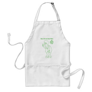 Bow Chicka Adult Apron