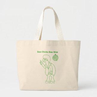 Bow Chicka Large Tote Bag