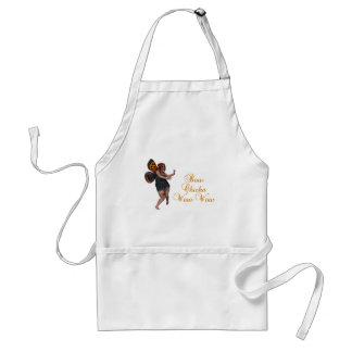 Bow chicka wow wow adult apron