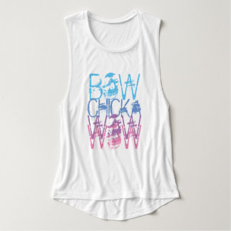Bow Chicka Wow Wow Metal Tank Top