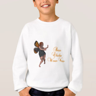 Bow chicka wow wow sweatshirt