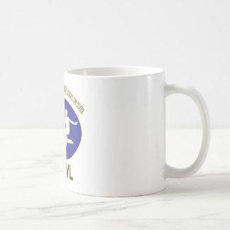 bow design coffee mug