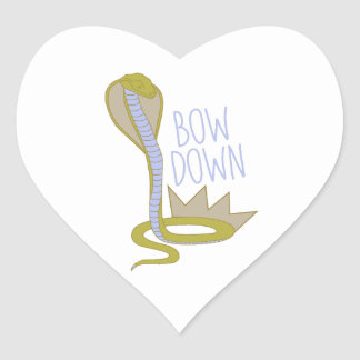 Bow Down Stickers