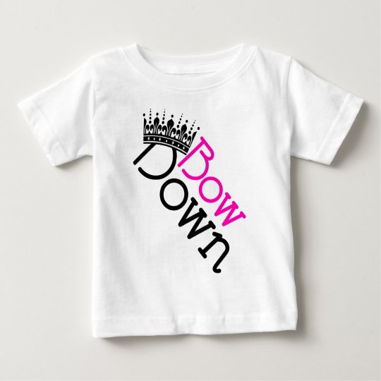 Bow Down Vector Art Baby T-Shirt