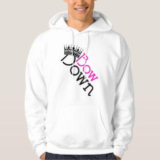 Bow Down Vector Art Hoodie