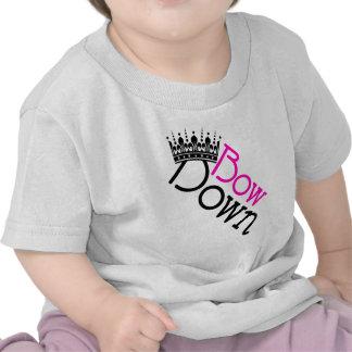 Bow Down Vector Art Tee Shirts