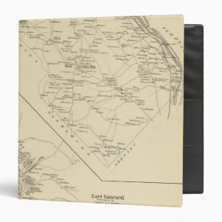 Bow, E Concord 3 Ring Binder