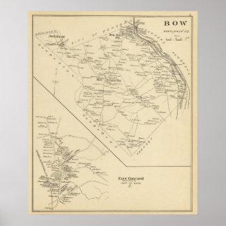 Bow, E Concord Poster