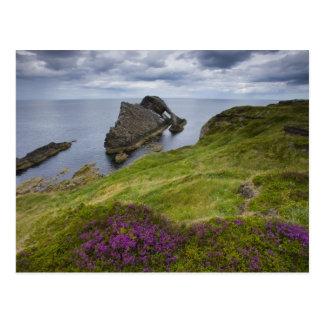 Bow Fiddle Rock, Portknockie, Scotland Postcard