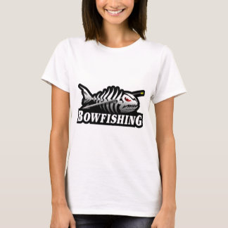 Bow Fishing Skeleton Bone fish T-Shirt