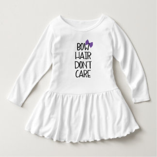 Bow Hair Purple Bow Toddler Tee