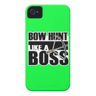 Bow Hunt Like a Boss Funny gif iPhone 4 Cover