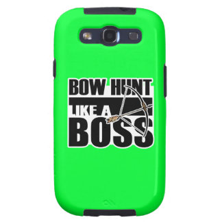 Bow Hunt Like a Boss Funny gif Samsung Galaxy S3 Cover