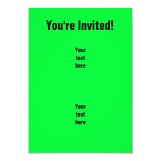 "Bow Hunt Like a Boss; Funny.gif 5"" X 7"" Invitation Card"