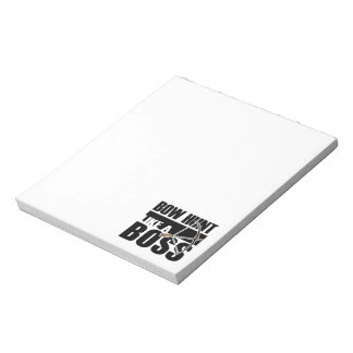 Bow Hunt Like a Boss; Funny.gif Memo Note Pads