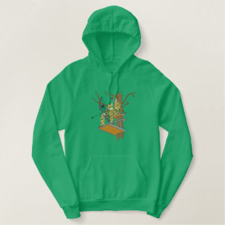 Bow Hunter Embroidered Hoodie