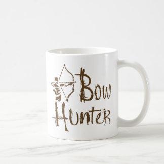 Bow Hunter Classic White Coffee Mug