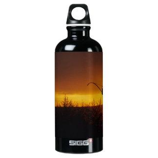 Bow Hunter Sunset Aluminum Water Bottle