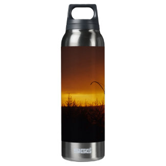 Bow Hunter Sunset Thermos Bottle