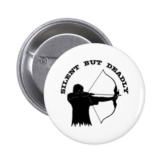 Bow Hunting Archery Silent But Deadly Buttons