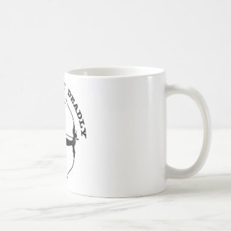 Bow Hunting Archery Silent But Deadly Classic White Coffee Mug