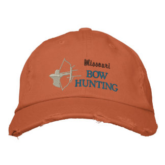 Bow Hunting, State by State Baseball Cap